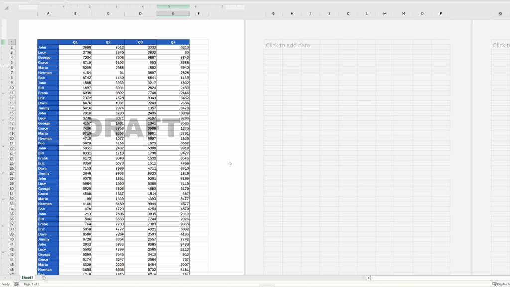 How to Insert aWatermark in Excel - final text watermark