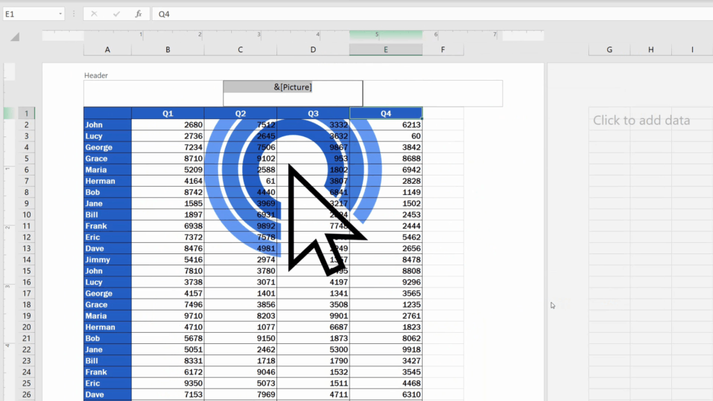 How to Insert aWatermark in Excel - picture is smaller